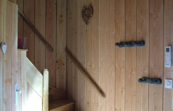 Image gîte de l'aérostier escalier
